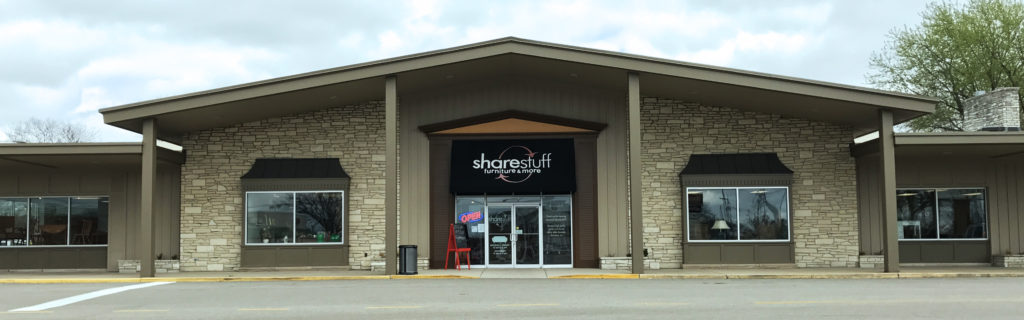 Rockford sharestuff upscale thrift stores for Furniture and more store